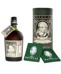 Ron Botucal Reserva Exclusiva Rum mit GB und Untersetzer