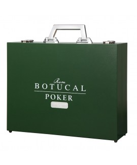 Ron Botucal Pokerkoffer mit Reserva Exclusiva Rum 12 Jahre