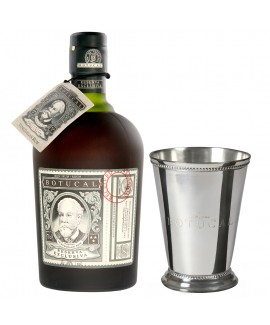 Ron Botucal Reserva Exclusiva Rum und Mint Julep Becher Silber