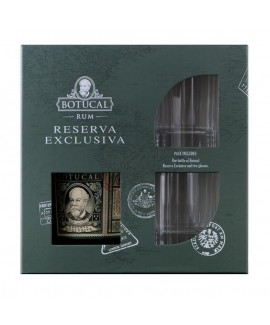 Ron Botucal Reserva Exclusiva Rum GB mit 2 Gläser