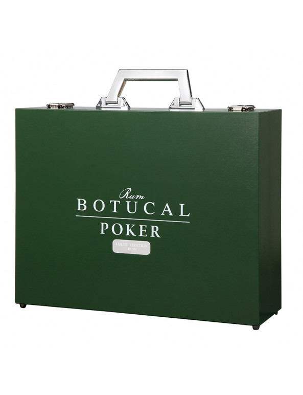 Ron Botucal Pokerkoffer mit Reserva Exclusiva Rum