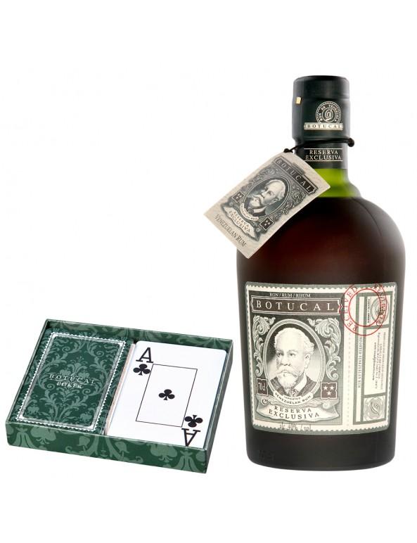 Botucal Reserva Exclusiva und Poker Karten